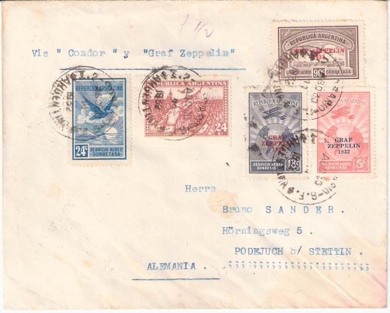 Südamerikafahrten LZ 127 1932 - Seite 2 Sieger25