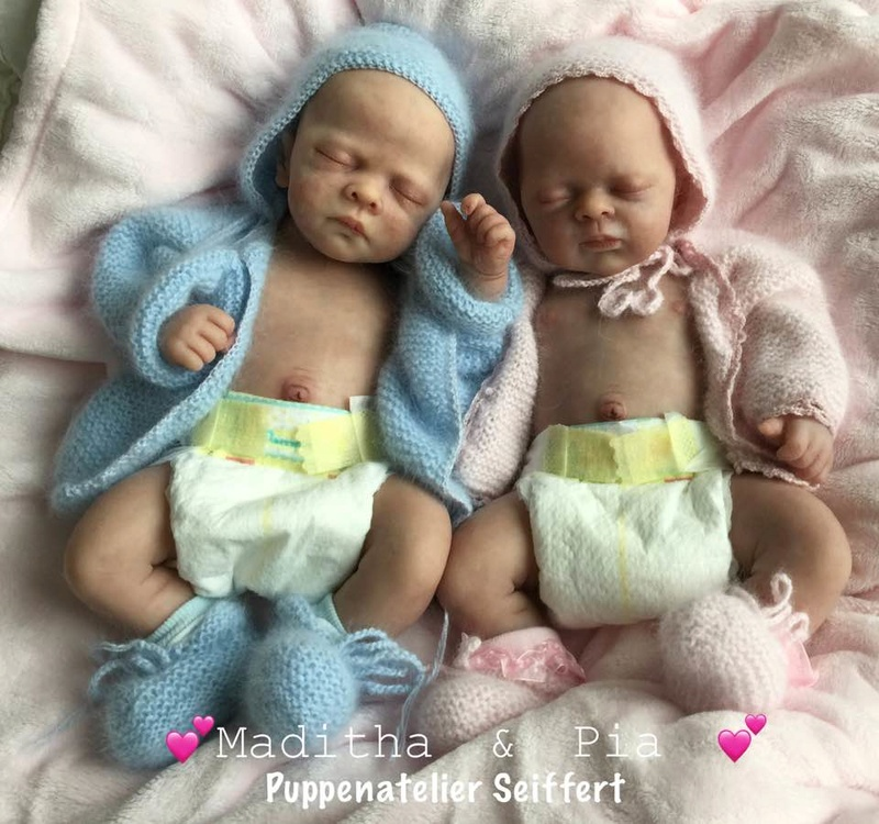 Maditha und Pia von Petra Seiffert Vollsilikonis Madith10