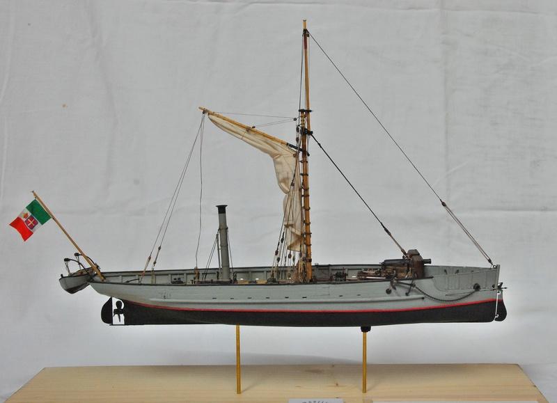 Chaloupe canonnière 1858 - 1:75 110