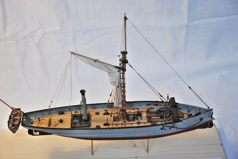 Chaloupe canonnière 1858 - 1:75 210