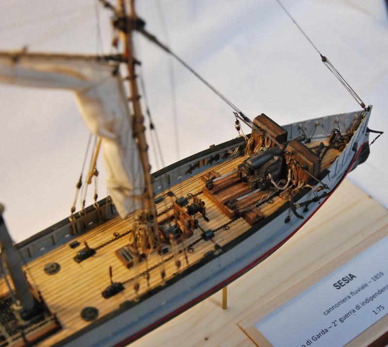 Chaloupe canonnière 1858 - 1:75 510