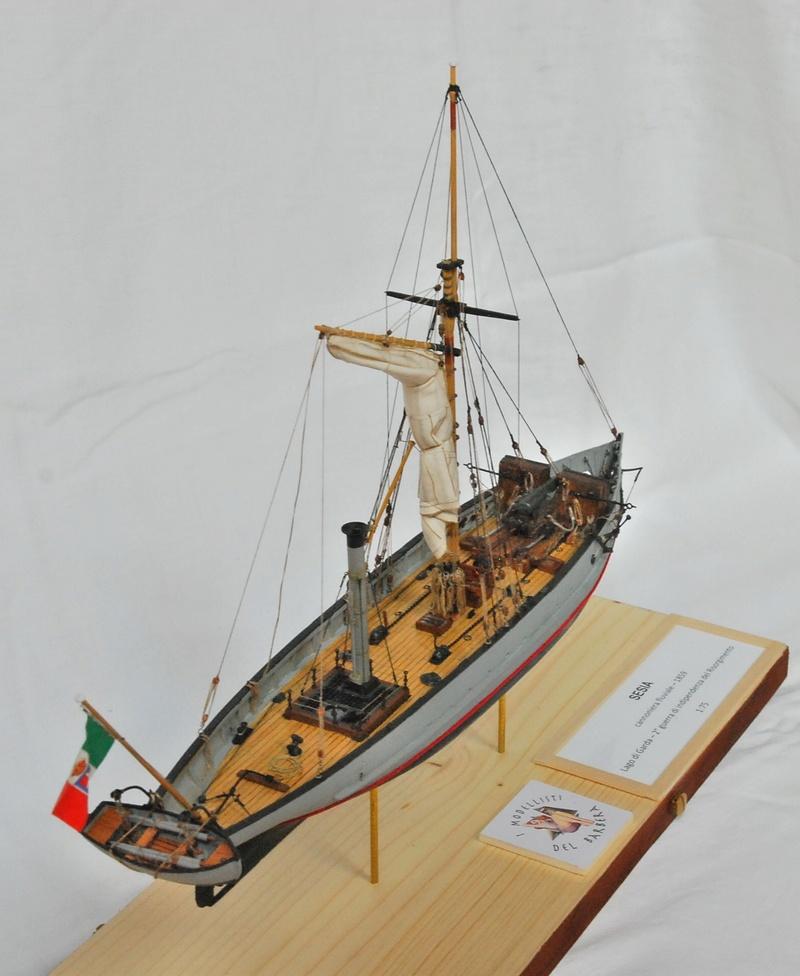 Chaloupe canonnière 1858 - 1:75 710