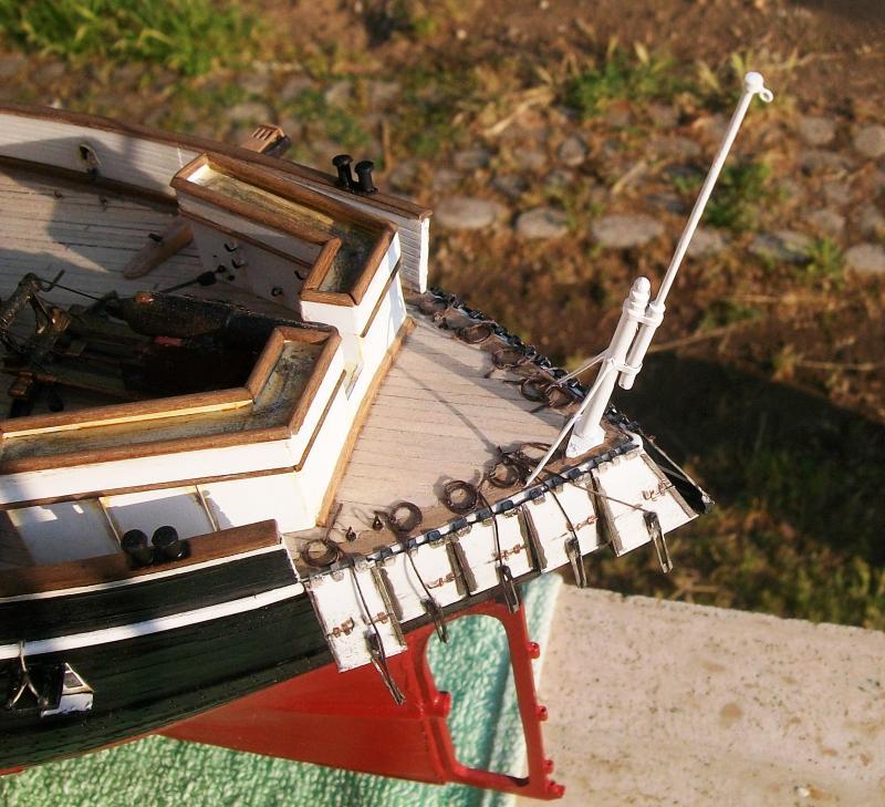 Chaloupe canonnière 1858 - 1:75 Mariap10
