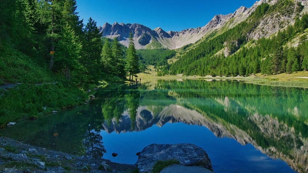Carte postale au Lac de l'Orceyrette Orceyr10