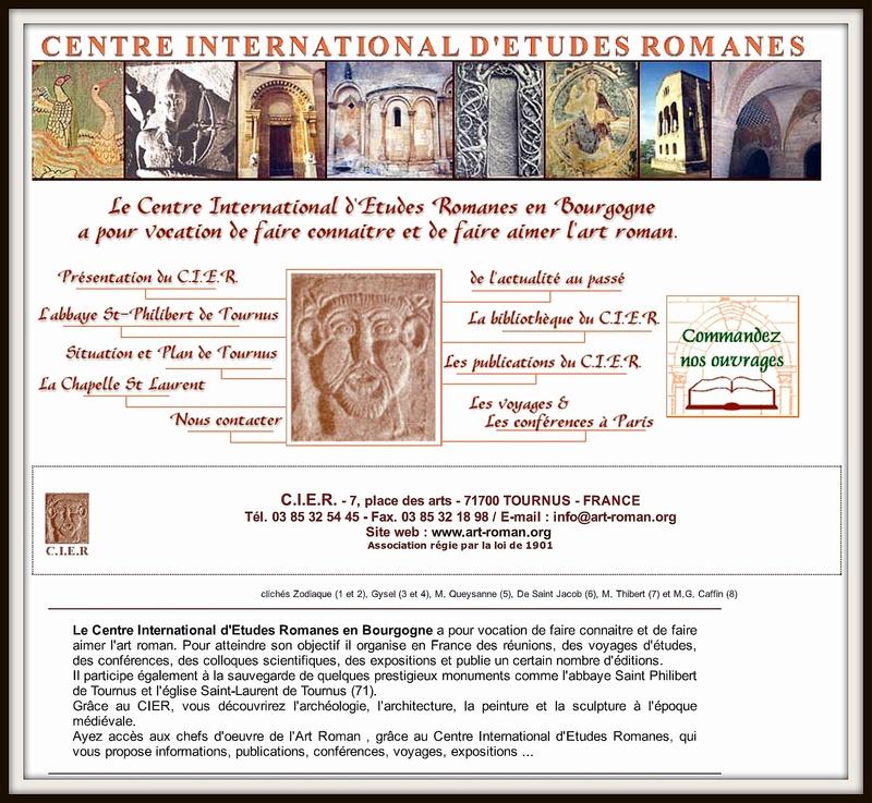 Le Centre International d'Etudes Romanes à Tournus en Bourgogne 114