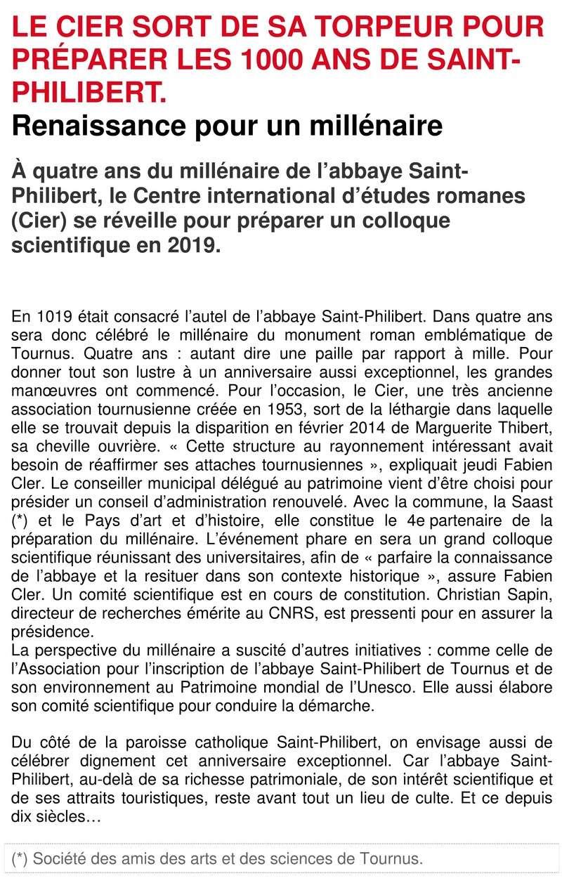Le Centre International d'Etudes Romanes à Tournus en Bourgogne 115