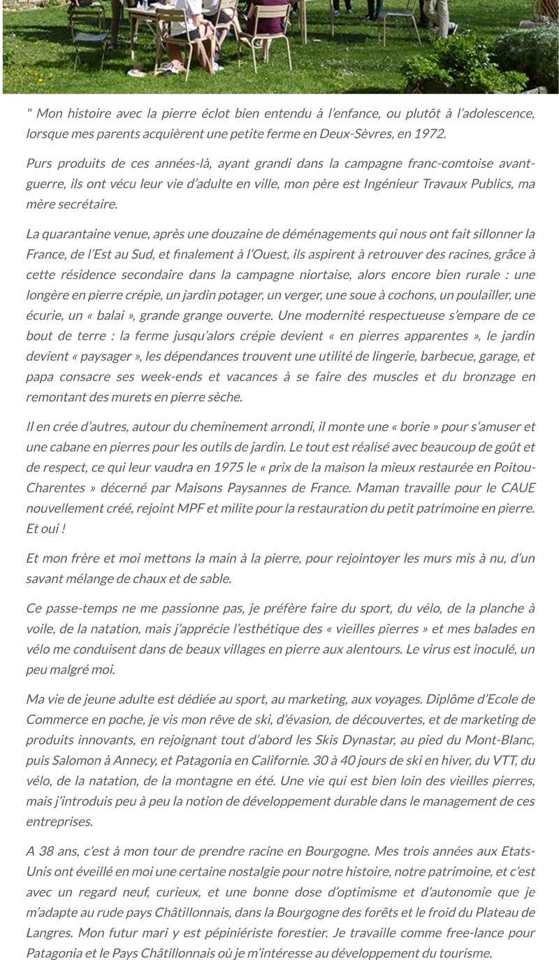 """""""Pierres qui roulent..."""" Saison 17 - La pierre en parcours.. 221"""