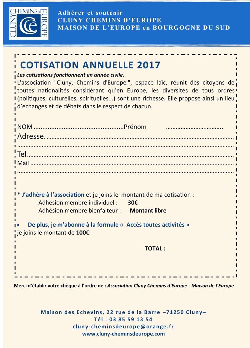 Programme du deuxième trimestre 2017 Cluny Chemins d'Europe 2b10