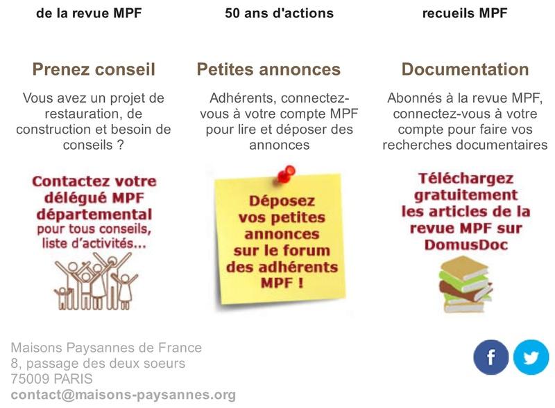 Lettre d'info Maisons Paysannes de France - mai 2017 319