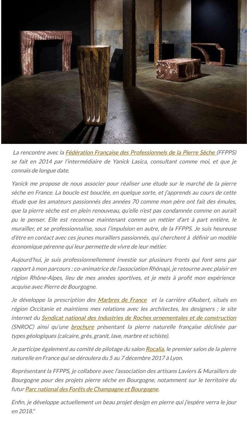"""""""Pierres qui roulent..."""" Saison 17 - La pierre en parcours.. 413"""