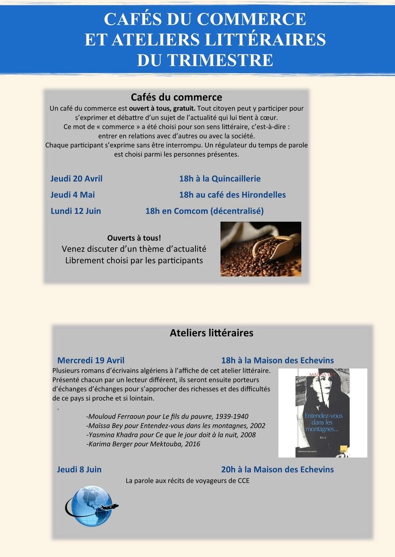 Programme du deuxième trimestre 2017 Cluny Chemins d'Europe 4a10
