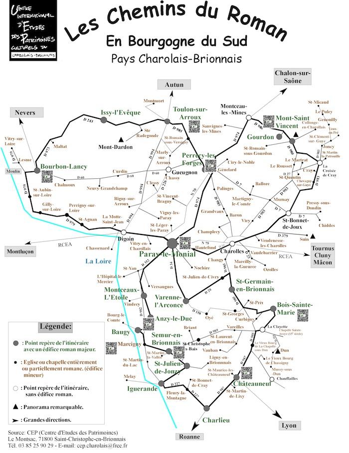 Actualités Groupe Patrimoines71/FAPPAH mars 2017 Carte-10