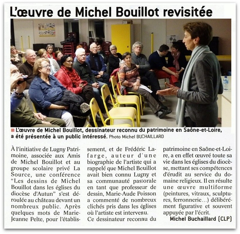 "Lugny : ""L'oeuvre de Michel Bouillot revisitée"" (""Le JSL"" du lundi 20 février 2017).  Lugny_11"
