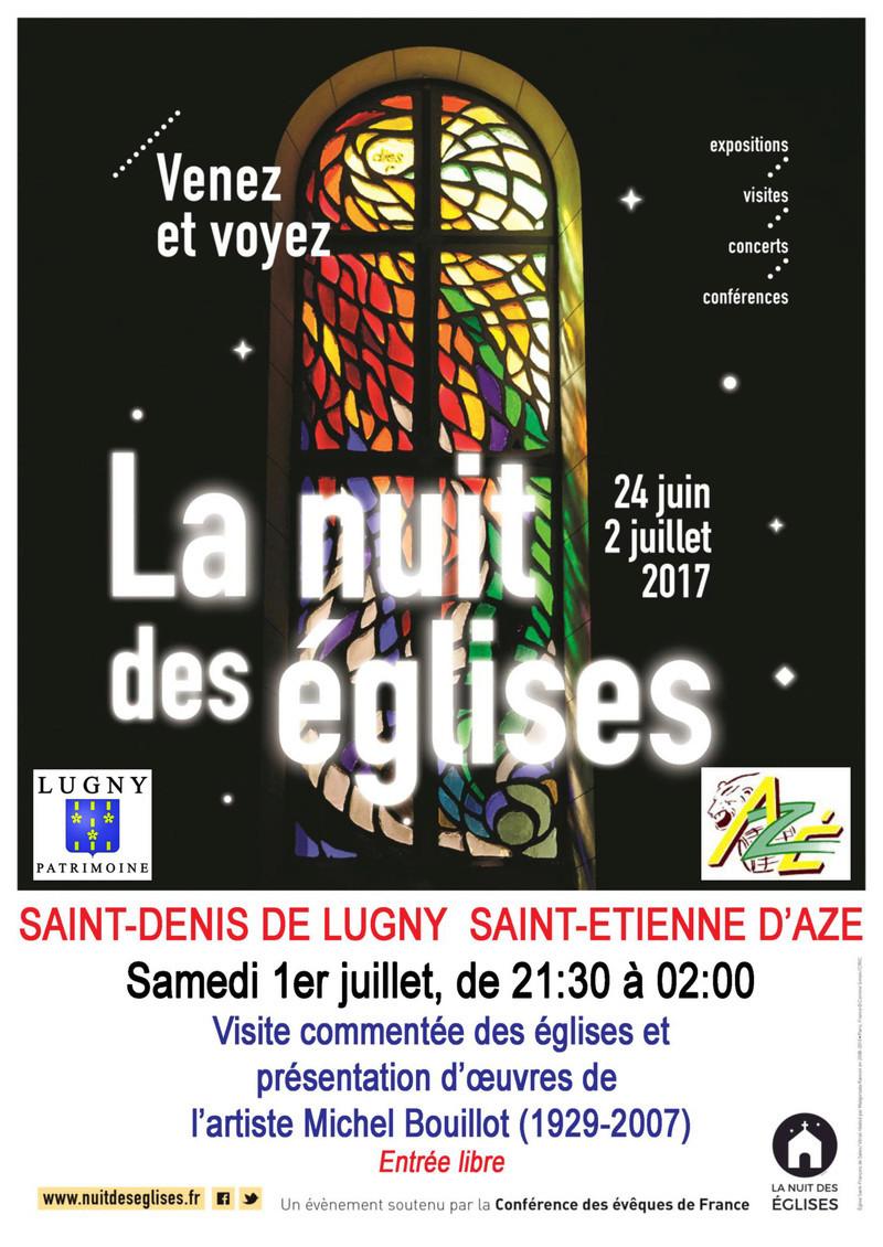 """Participation de Lugny et d'Azé à la """"Nuit des Eglises 2017"""" (samedi 1er juillet). Lugny_20"""