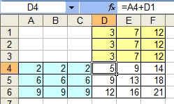 Comment copier/coller formule excel avec deux variables dans un tableau ? 2013-115
