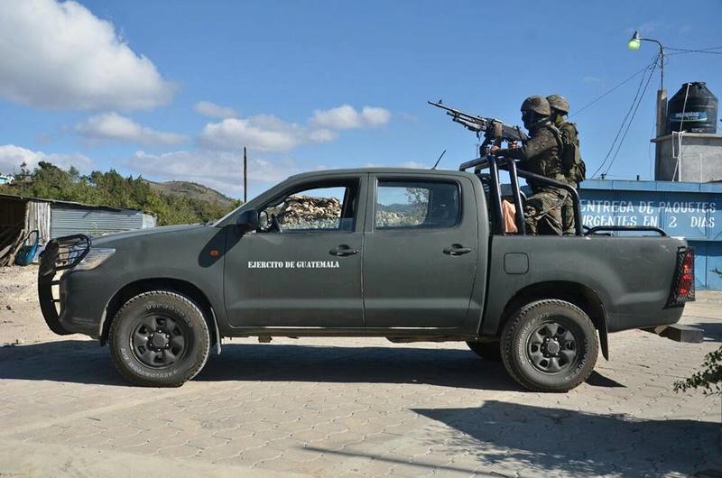 Les forces armées du Guatemala / Military of Guatemala / Ejército de Guatemala 5925