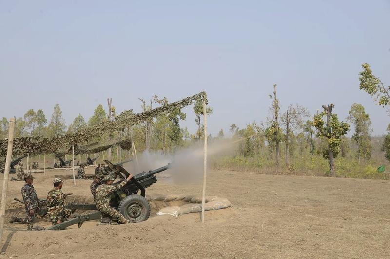 Armée Népalaise 6052