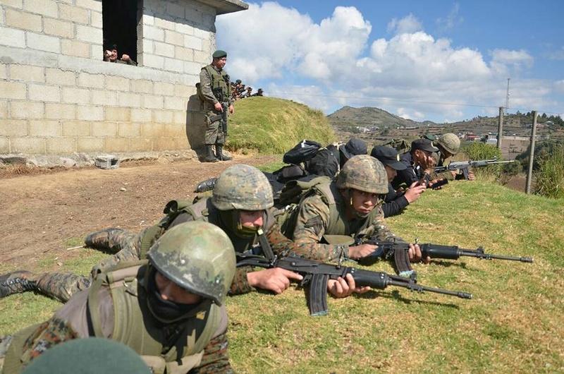 Les forces armées du Guatemala / Military of Guatemala / Ejército de Guatemala 6314
