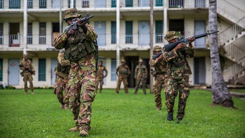 Force de défense de Papouasie Nouvelle-Guinée  / Papua New Guinea Defence Force (PNGDF) 7648