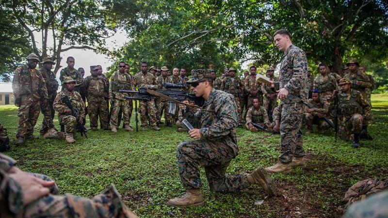 Force de défense de Papouasie Nouvelle-Guinée  / Papua New Guinea Defence Force (PNGDF) 7832