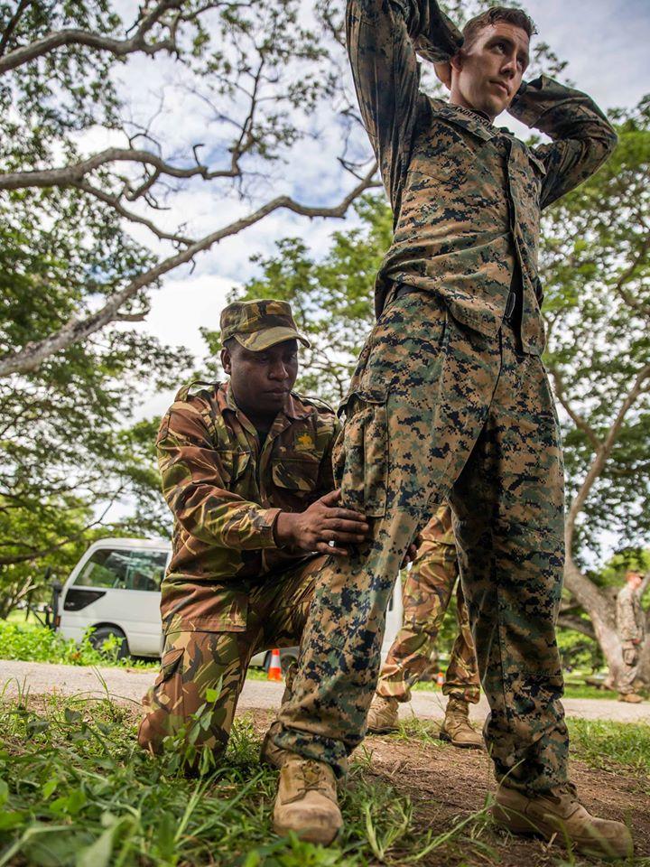 Force de défense de Papouasie Nouvelle-Guinée  / Papua New Guinea Defence Force (PNGDF) 8031