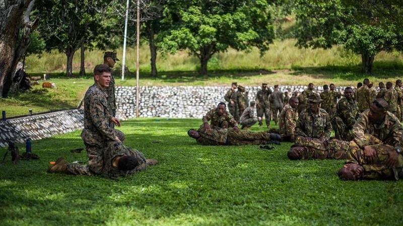 Force de défense de Papouasie Nouvelle-Guinée  / Papua New Guinea Defence Force (PNGDF) 8222