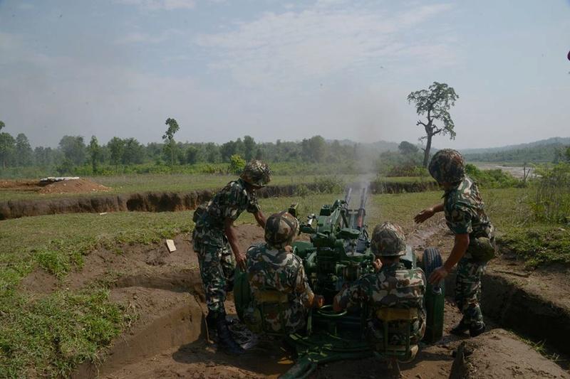 Armée Népalaise 9881
