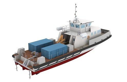 Barge de débarquement 98f25