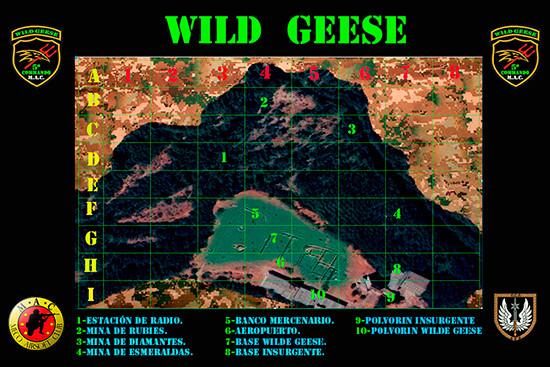WILD  GEESE  21/5/17 Mapa-w11