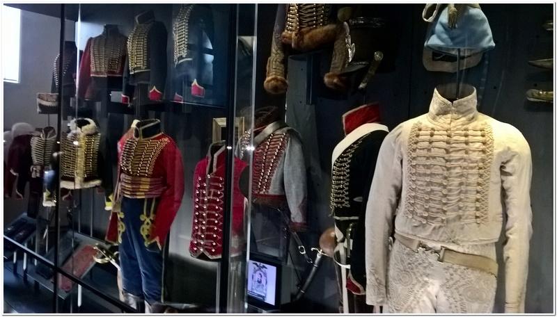 Les paras du Gers visitent le musée des Hussards à Tarbes Unp_3211
