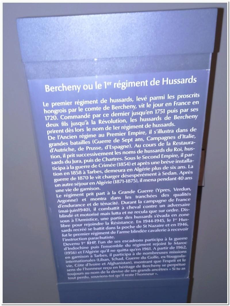 Les paras du Gers visitent le musée des Hussards à Tarbes Unp_3213