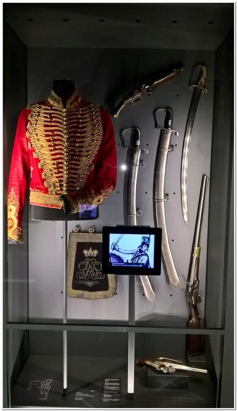 Les paras du Gers visitent le musée des Hussards à Tarbes Unp_3218