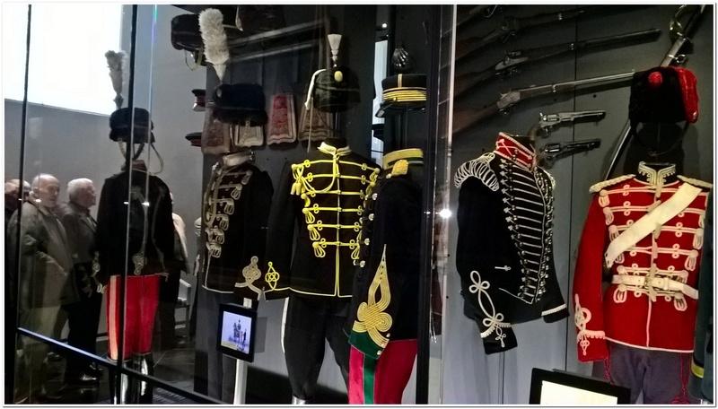 Les paras du Gers visitent le musée des Hussards à Tarbes Unp_3220