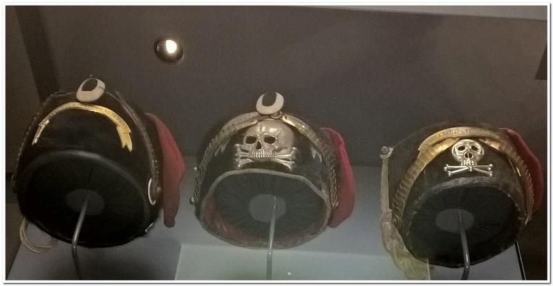 Les paras du Gers visitent le musée des Hussards à Tarbes Unp_3221
