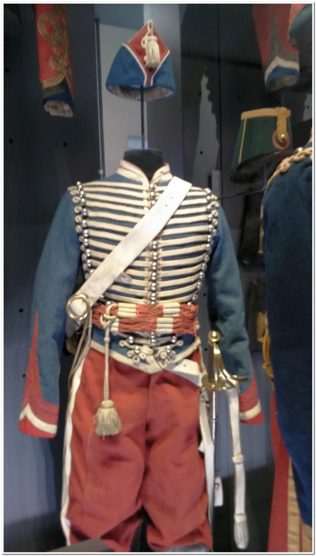 Les paras du Gers visitent le musée des Hussards à Tarbes Unp_3224
