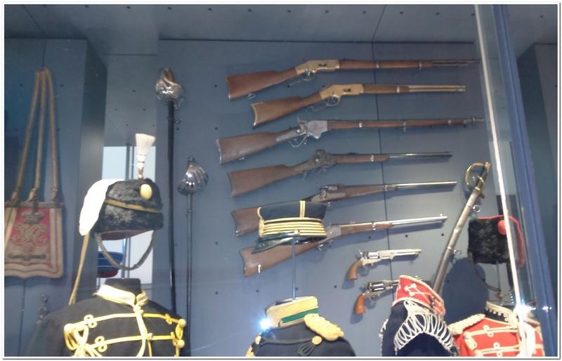 Les paras du Gers visitent le musée des Hussards à Tarbes Unp_3225