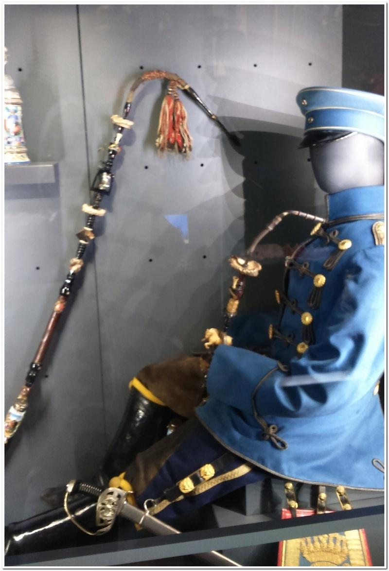 Les paras du Gers visitent le musée des Hussards à Tarbes Unp_3227