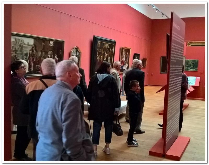Les paras du Gers visitent le musée des Hussards à Tarbes Unp_3231