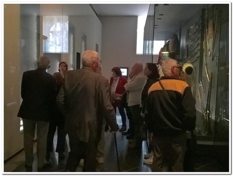 Les paras du Gers visitent le musée des Hussards à Tarbes Unp_3232