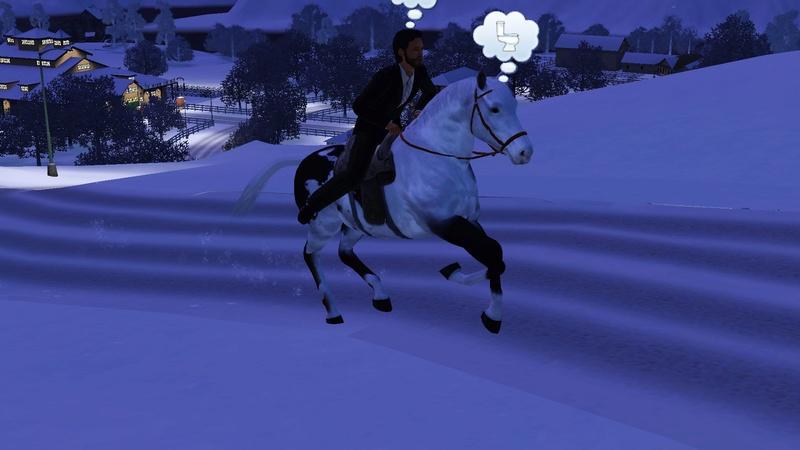 """[Challenge] Teens and Horses """"Sims 3"""" raconté par Vavaveau Screen12"""