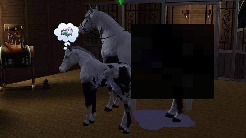 """[Challenge] Teens and Horses """"Sims 3"""" raconté par Vavaveau Screen14"""