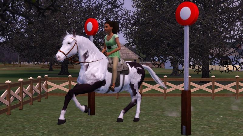 """[Challenge] Teens and Horses """"Sims 3"""" raconté par Vavaveau Screen15"""