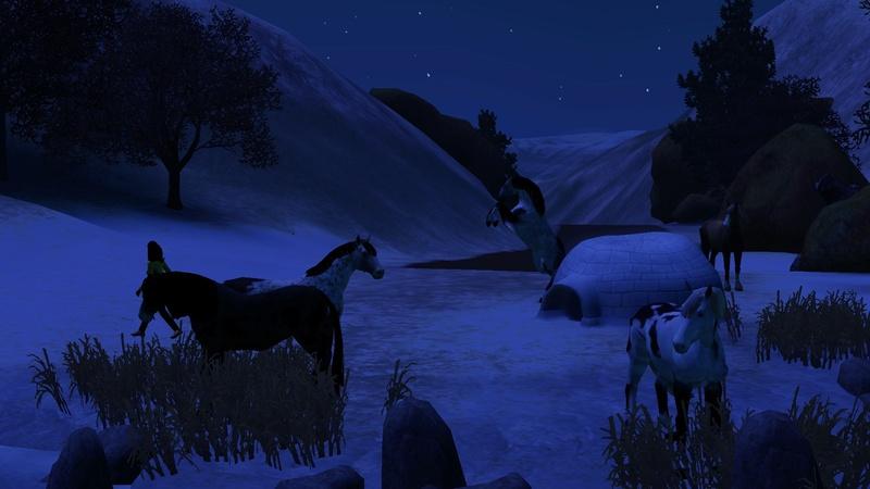 """[Challenge] Teens and Horses """"Sims 3"""" raconté par Vavaveau Screen16"""