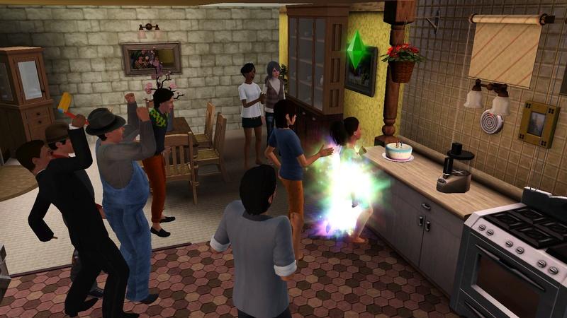 """[Challenge] Teens and Horses """"Sims 3"""" raconté par Vavaveau Screen18"""