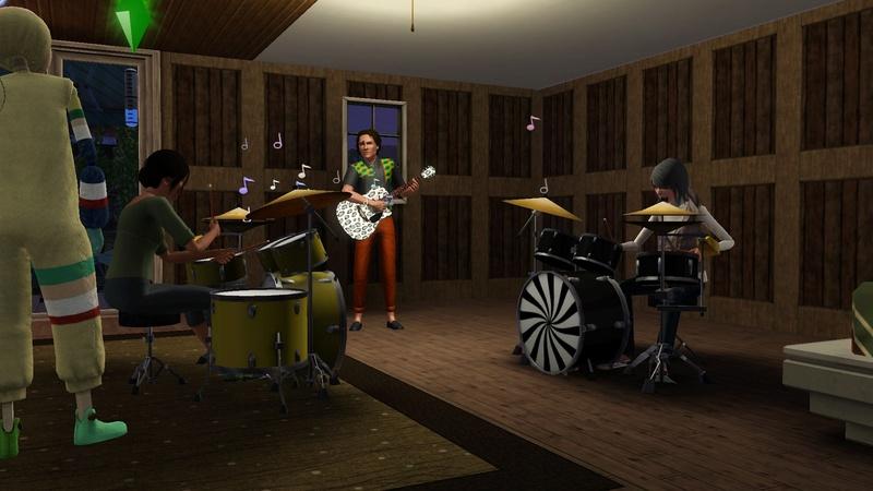 """[Challenge] Teens and Horses """"Sims 3"""" raconté par Vavaveau Screen20"""