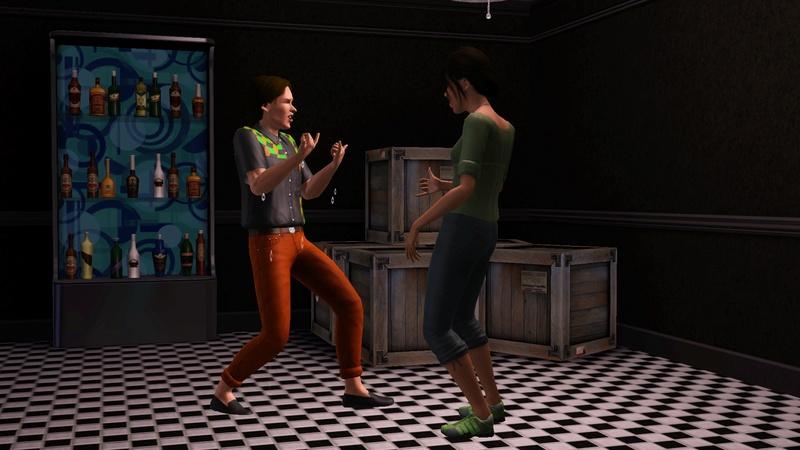 """[Challenge] Teens and Horses """"Sims 3"""" raconté par Vavaveau Screen31"""
