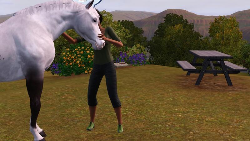 """[Challenge] Teens and Horses """"Sims 3"""" raconté par Vavaveau Screen33"""