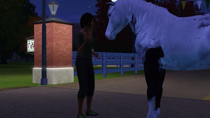 """[Challenge] Teens and Horses """"Sims 3"""" raconté par Vavaveau Screen34"""