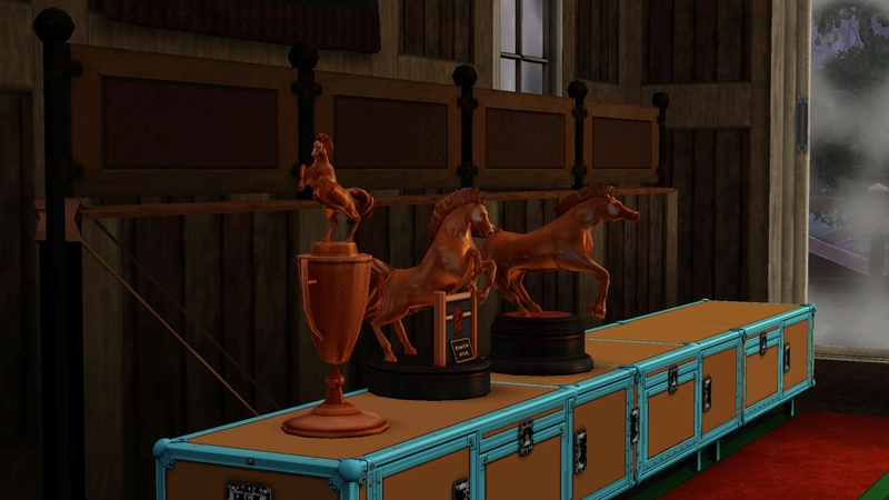 """[Challenge] Teens and Horses """"Sims 3"""" raconté par Vavaveau Screen35"""
