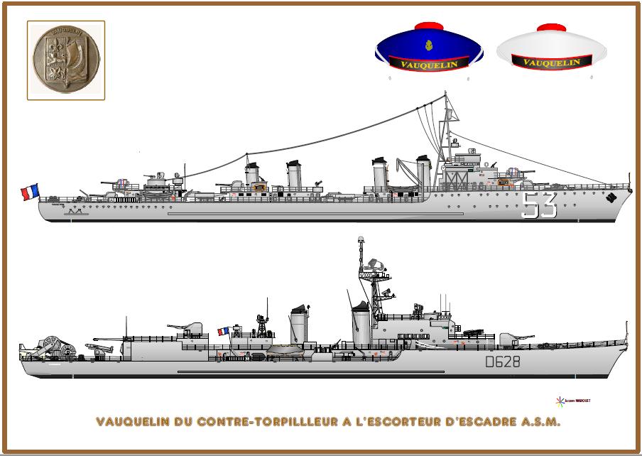CONTRE-TORPILLEURS CLASSE VAUQUELIN (FRANCE) (Terminé) 2_vauq10